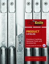 PipeKnife Caulking Tools Catalog